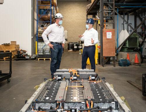 Nouveau Monde et Lithion signent une entente de collaboration pour le recyclage du graphite pour sa réutilisation comme matériel d'anode pour batteries li-ion – un engagement envers le cycle de vie complet des matériaux