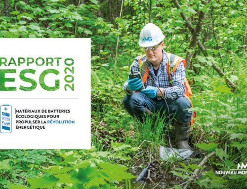 Nouveau Monde publie son premier rapport ESG : Accent sur l'excellence environnementale et le développement durable